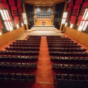 Großer Sendesaal im ORF Radiokulturhaus in Wien