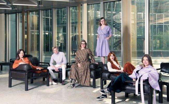 Das Team der Vienna Design Week rund um Direktorin Lilli Hollein