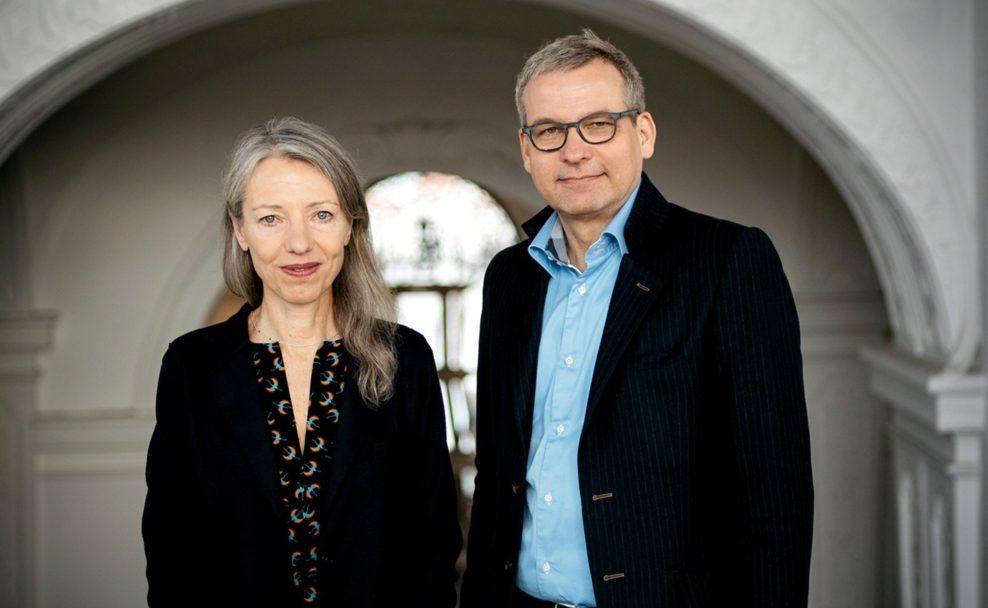 Stella Rollig und Wolfgang Bergmann wurden mit in der Geschäftsführung des Belvedere betraut
