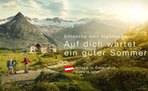 Bewerbung von Urlaub in Österreich im Sommer 2020 für heimische Gäste rollt an