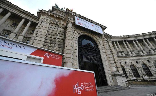 Haus der Geschichte Österreich am Heldenplatz