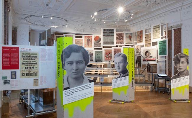 """Haus der Geschichte (hdgö) mit erneuerter Hauptausstellung """"Neue Zeiten: Österreich seit 1918"""""""
