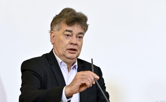 Vizekanzler Werner Kogler verteidigt die Kommunikation der Regierung in der ORF-Pressestunde