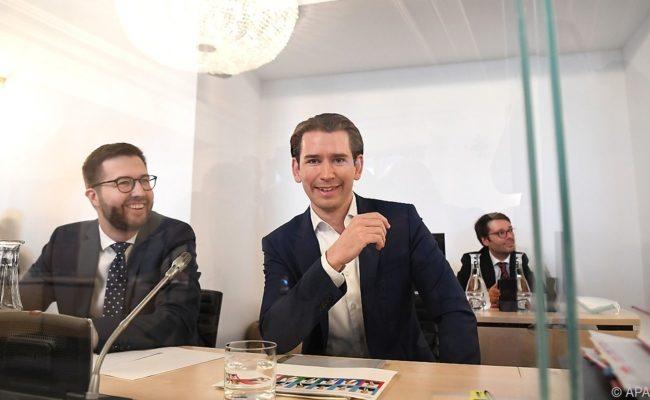 Sebastian Kurz hatte vor den Befragungen im Ibiza-U-Asschuss leicht lachen