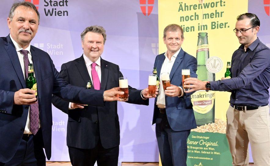"""Mediengespräch zu """"Mehr Wien in Bier"""" mit Bürgermeister Michael Ludwig"""