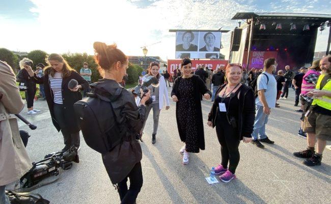 Katharina Zehender, Ina Regen und Stina Stani fotografiert von Kathi Schiffl