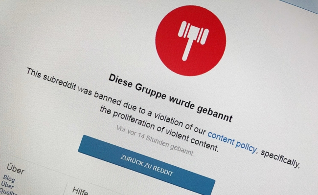 "Linking-Plattform Reddit will ""violent content"" Konten sperren"