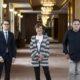 Lukas Crepaz, Helga Rabl-Stadler und Markus Hinterhäuser bringen trotz Coronakrise ordentliche Festspiele auf die Bühne