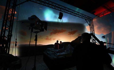 Virtual Production Studio Vienna bietet 270-Grad-Set mit 200 Quadratmeter LED-Fläche
