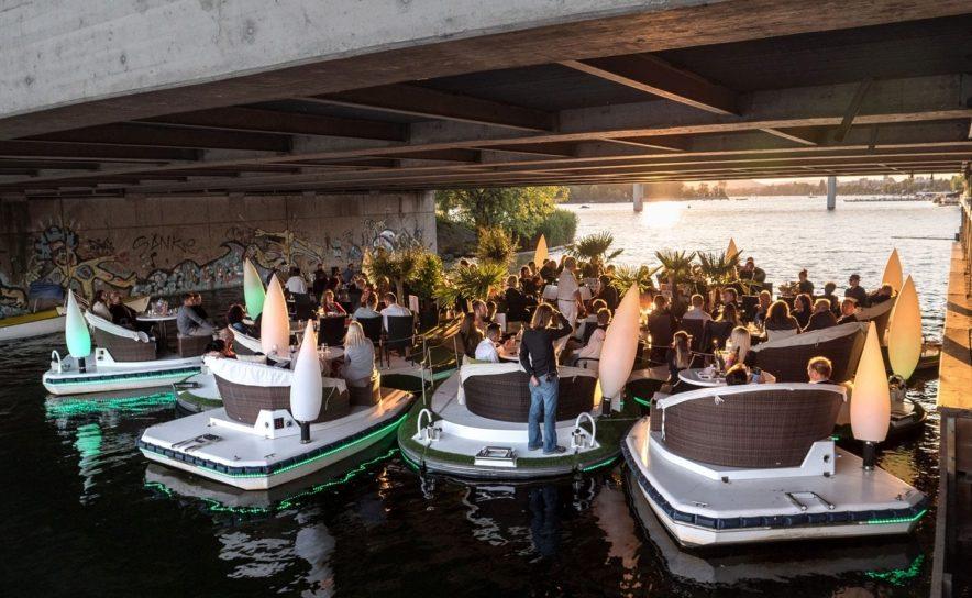 Meine Insel Bootsverleih veranstaltet Floating Concerts auf der Alten Donau von Juli bis September