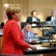Bundeskanzlerin Angel Merkel billigte Gesetz gegen Hass im Internet