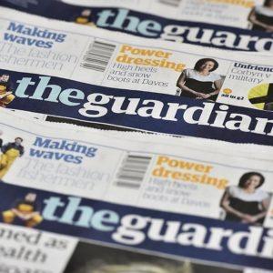 """Britische Medien wie die Tageszeitung """"The Guardian"""" streicht wegen Corona Jobs in Redaktionen"""