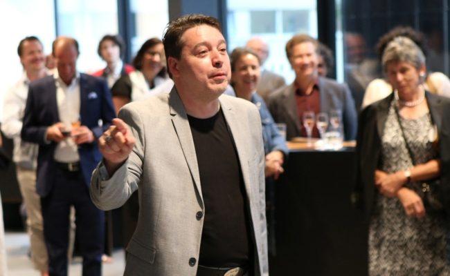 Österreichischer Musiktheaterpreis Cocktail im Haus der Musik Innsbruck mit Initiator Karl-Michael Ebner