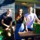 Das Team von Landkind: Benedikt Strasser, Nina Strasser und Stefan Rom