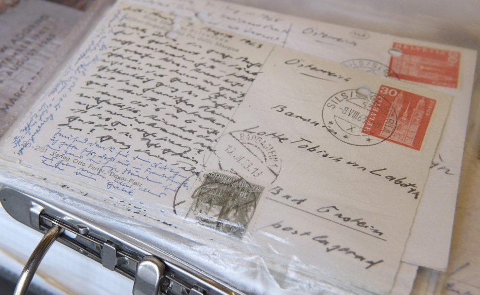 Korrespondenz mit Theodor W. Adorno von Lotte Tobisch in der Wienbibliothek der Stadt Wien