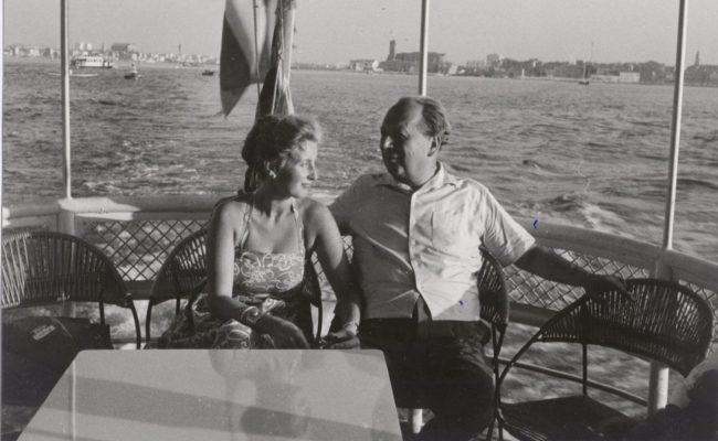 Lotte Tobisch und Erhard Buschbeck (vermutlich Sommer 1950)