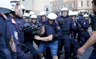 Demonstration in Wien Favoriten für die kurdische Freiheitsbewegung am 26. Juni 2020