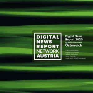 """Österreich-Zahlen im """"Reuters Institute Digital News Report"""" 2020"""
