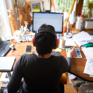 Die Kommunikationsbranche arbeitet fast zur Gänze im Homeoffice seit der Coronakrise