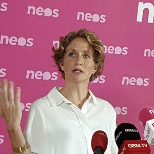 Neos-Fraktionsführerin Stephanie Krisper gibt Zwischenbilanz zum Ibiza-U-Ausschuss