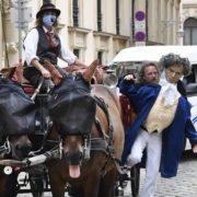 In Wien gibt es ein neues touristisches Angebot: die Kulturkutschen