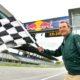 ORF Sportreporter Ernst Hausleitner berichtet vom Formel 1 Rennen in Spielberg