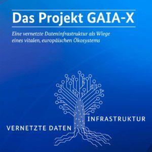 """Projekt GAIA-X für """"Eine vernetzte Dateninfrastruktur als Wiege eines vitalen, europäischen Ökosystems"""""""