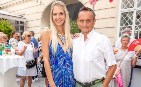 Beatrice Körmer mit Freund Heimo Turin beim Sommerfest Beauty & Lifestyle Spa
