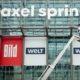 """Axel Springer bündelt Redaktion und Verlag der Tageszeitungen """"Bild"""" und """"Welt"""""""