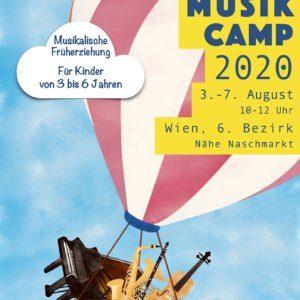 Sommer Musik Camp in Wien von ausgebildeter Pädagogin Zoryana Antonyak für musikalische Früherziehung