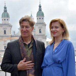 """TerrassenTalk """"Jedermann"""" in Salzburg mit Tobias Moretti und Caroline Peters"""