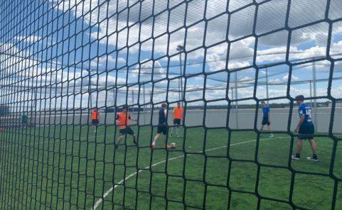 """Vollmond Fußball in der Soccer-Anlage """"Andi kickt"""" in der Seestadt Aspern"""
