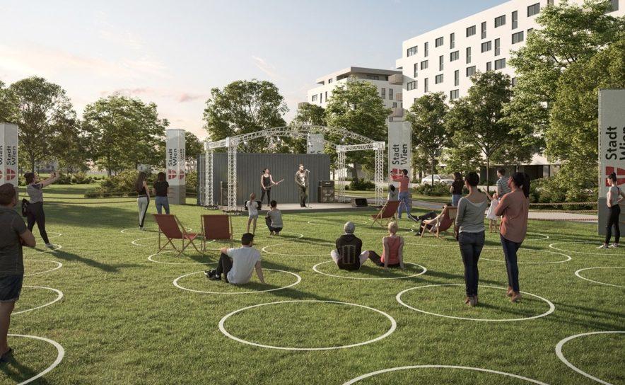"Illustration zum geplanten ""Kultursommer 2020"" in Wien"