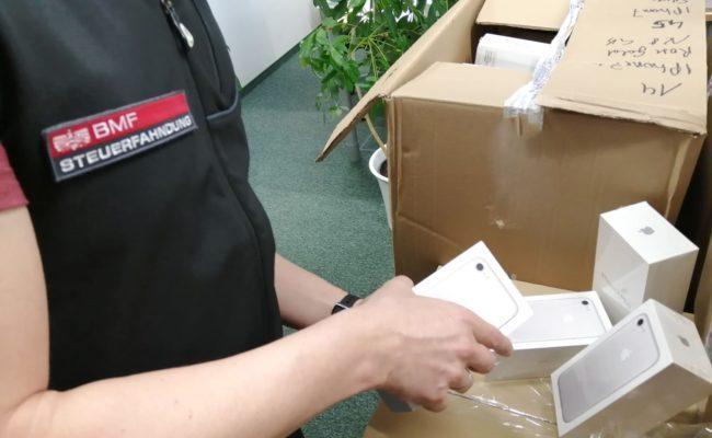 Die Verpackungen sollten nicht auffallen und wurden präpariert