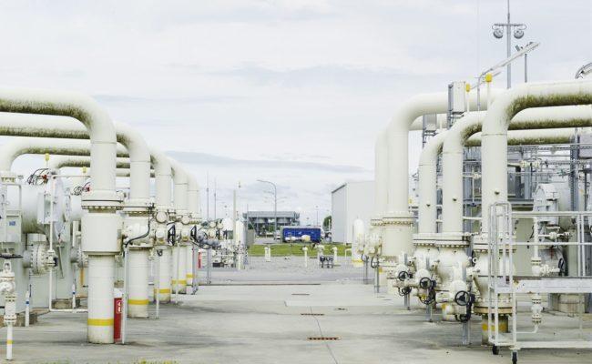 Rund ein Drittel aller Gasexporte Russlands werden über die Drehscheibe in Baumgarten befördert