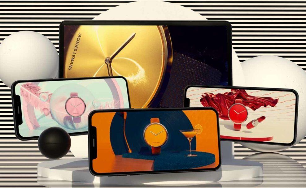TUNNEL23 Imagekampagne der neuen Damenuhren Design Collection von Jacques Lemans entworfen