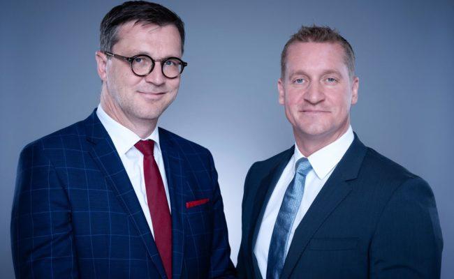 RTR-Geschäftsführer Klaus M. Steinmaurer und Oliver Stribl leiten 5G-Auktion