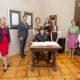 Helnwein mit Familie zu Gast beim Bürgermeister von Graz, Siegfried Nagl