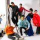 Studierende der KunstModeDesign Herbststrasse bei der MQ Vienna Fashion Week