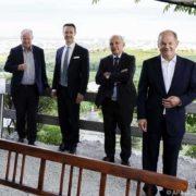 Informelle Besprechung deutschsprachiger Finanzminister in Wien zu Themen wie Digitalsteuer und OECD