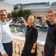 """""""So klingt Österreich"""" mit Christian Strasser (MQ Wien), Petra Stolba (Österreich Werbung) und Andreas Vierziger (Kurator)"""