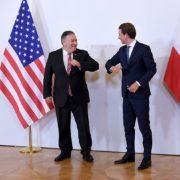 US-Außenminister Pompeo fährt Ellbogen gegen Kanzler Kurz aus