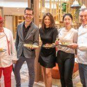 Wiener Restaurantwoche 2020 Kick-Off Event mit Harald Brunner, Dominik Holter, Nadine Djordjevic, Yawen Sun, Toni Mörwald