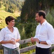 Pamela Rendi-Wagner überzeugt Georg Dornauer von Viertagewoche