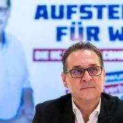 Bundesobmann Heinz-Christian Strache beklagt mediale Einflussnahme aus Deutschland