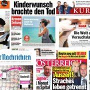 ÖAK meldet Rückgang der Verkaufsauflage von Tageszeitungen und Zeitschriften