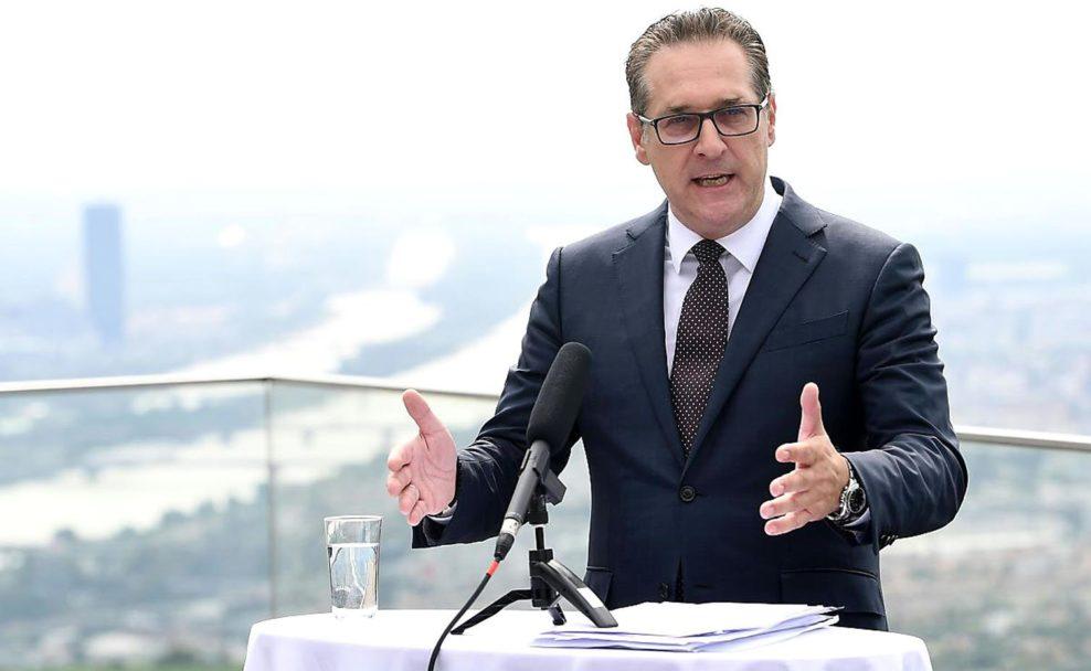 Team HC Strache stellt Kandidaten seiner Partei für die Wien-Wahl vor