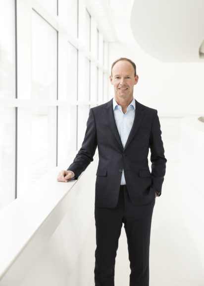 Thomas Rabe, Vorstandsvorsitzender von Bertelsmann, die an der Mediengruppe RTL beteiligt ist