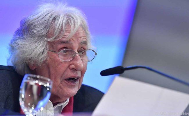 """Anita Lasker-Wallfisch gab eine Videobotschaft im Rahmen """"Reden über das Jahrhundert"""""""