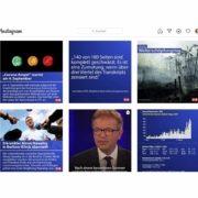 Nach einem Jahr ORF ZIB auf Instagram werden 460.000 Abonnentinnen und Abonnenten gezählt